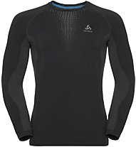 Odlo Performance Warm CN LS - Funktionsshirt Langarm - Herren, Black