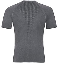 Odlo Performance Warm CN SS - maglietta tecnica - uomo, Grey