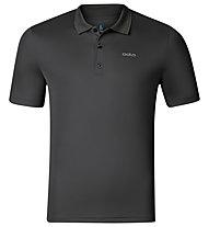 Odlo Polo Shirt S/S Kalmit Herren Wander Poloshirt, Grey