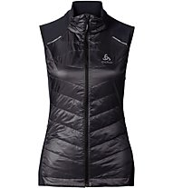 Odlo Primaloft Lofty Vest - gilet running donna, Black