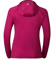 Odlo Pulse Hoody Midlayer Full Zip - Kapuzenjacke Damen, Pink