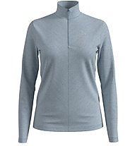 Odlo Roy Midlayer 1/2 - Skipullover - Damen, Light Grey/Blue