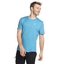 Odlo S/S Crew Neck Cardada - T-Shirt - Herren, Light Blue