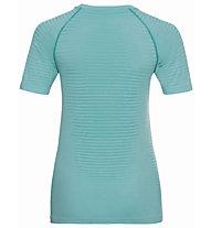 Odlo S/S Crew Neck Essential - T-shirt - donna, Light Blue