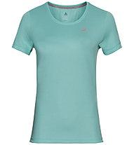 Odlo S/S Crew Neck F Dry - T-shirt - donna , Light Blue