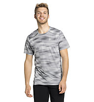 Odlo S/S Crew Neck Fli Chill Tec - T-shirt - uomo , Grey