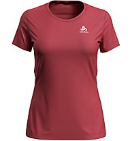Odlo S/S Element Light - t-shirt running - donna, Red