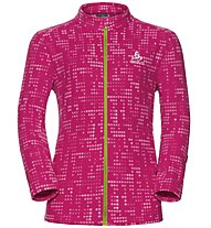Odlo Schladming Kids Midlayer full zip - Fleecejacke - Kinder, Pink