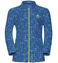 Odlo Schladming Kids Midlayer full zip - Fleecejacke - Kinder, Light Blue