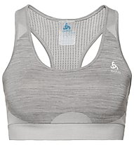Odlo Seamless Medium Sports Bra - Sport BH - Damen, Grey Melange