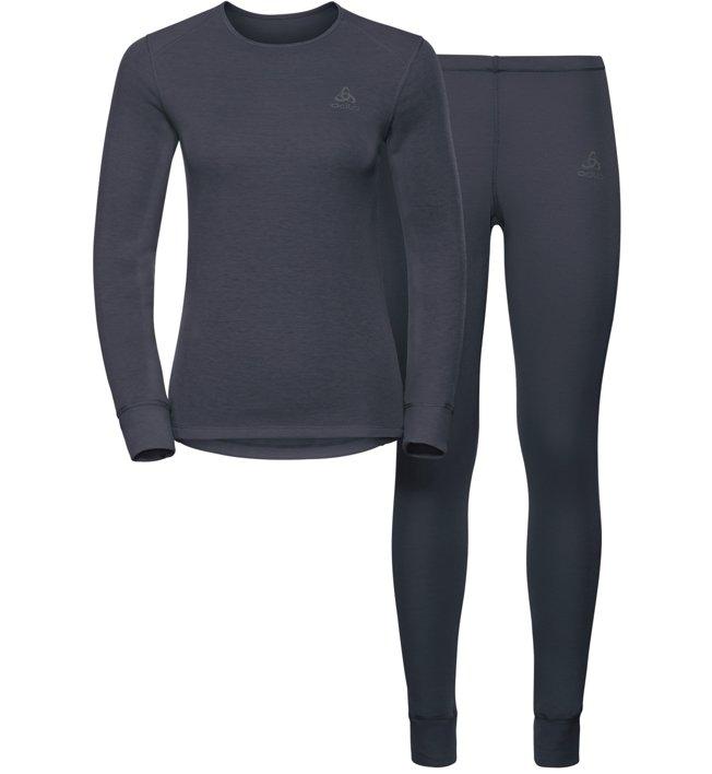 Odlo Set Evolution WARM - Sportunterwäsche Komplet - Damen, Blue
