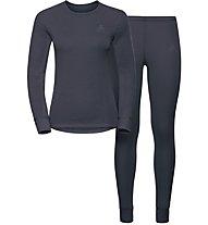 Odlo Set Evolution WARM - Sportunterwäsche Komplet - Damen, Blue
