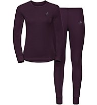 Odlo Set Evolution WARM - Sportunterwäsche Komplet - Damen, Violet