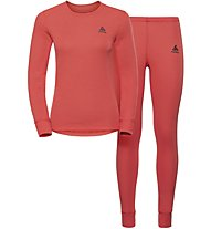 Odlo Set Evolution WARM - Sportunterwäsche Komplet - Damen, Orange