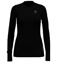 Odlo Set Long Merino 100% Warm - Komplet Funktionsunterwäsche - Damen, Black