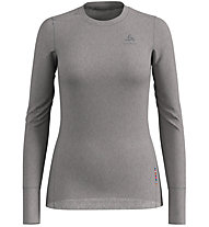 Odlo Set Long Merino 100% Warm - set intimo - donna, Grey