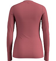 Odlo Set Long Merino 100% Warm - set intimo - donna, Red