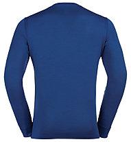 Odlo Set Long Merino 100% Warm - Komplet Unterwäsche - Herren, Blue