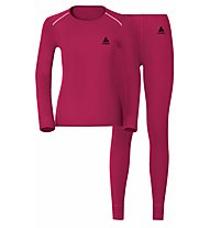 Odlo Set Evolution WARM - Sportunterwäsche Komplet - Damen, Pink