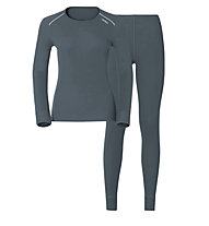 Odlo Set Evolution WARM - Sportunterwäsche Komplet - Damen, Grey