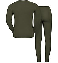 Odlo Set Warm - completo intimo - uomo, Green
