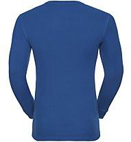 Odlo Set Shirt l/s Pants WARM - Sportunterwäsche-Komplet, Electric Blue