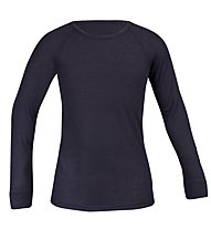 Odlo Shirt L/S Warm Jr, Navy
