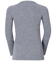 Odlo Shirt L/S Warm Jr, Grey