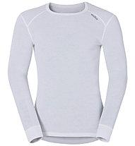 Odlo Shirt L/S Warm - Funktionsshirt Langarm - Herren, White