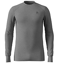 Odlo Shirt L/S Warm - Funktionsshirt Langarm - Herren, Grey