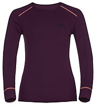 Odlo Shirt L/S Warm - Funktionsshirt Langarm - Damen, Purple