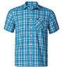 Odlo Shirt S/S Mythen Camicia a maniche corte trekking uomo, Blue
