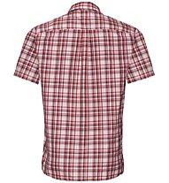 Odlo Mythen - camicia a maniche corte - uomo, Red/Dark Red