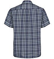 Odlo Mythen - camicia a maniche corte - uomo, Dark Blue/Blue