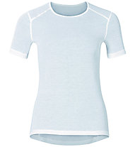 Odlo Warm Crew Neck W's - Funktionsshirt - Damen, White