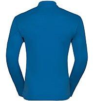 Odlo Sliq Midlayer- Laufpullover mit Reißverschluss - Herren, Light Blue