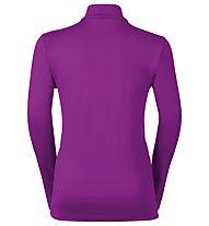 Odlo Snowbird KIDS Midlayer 1/2 zip, Violet Pink