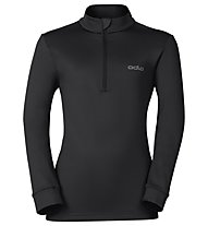 Odlo Snowbird KIDS Midlayer 1/2 zip - Fleecepullover - Kinder, Black