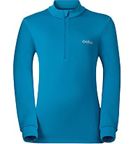 Odlo Snowbird KIDS Midlayer 1/2 zip - Fleecepullover - Kinder, Blue