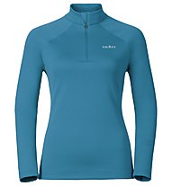 Odlo Snowbird Midlayer 1/2 zip - Fleecepullover - Damen, Light Blue