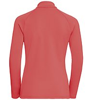 Odlo Snowbird Midlayer 1/2 zip - Fleecepullover - Damen, Orange