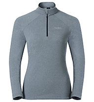 Odlo Snowbird Midlayer 1/2 zip - Fleecepullover - Damen, Light Grey