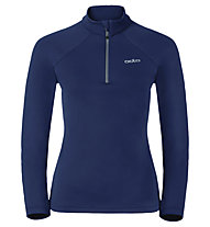 Odlo Snowbird Midlayer 1/2 zip - Fleecepullover - Damen, Dark Blue