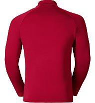 Odlo Snowbird Midlayer 1/2 zip, Red