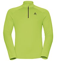 Odlo Snowbird Midlayer 1/2 zip - Fleecepullover - Herren, Light Green