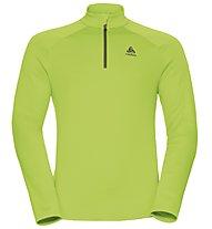 Odlo Snowbird Midlayer 1/2 zip - Fleecepullover - Herren, Light Green