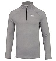 Odlo Snowbird Midlayer 1/2 zip - Fleecepullover - Herren, Light Grey