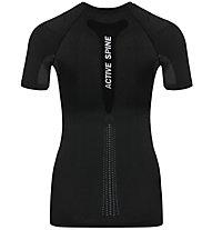 Odlo Active Spine Pro Suw - maglietta tecnica - donna, Black