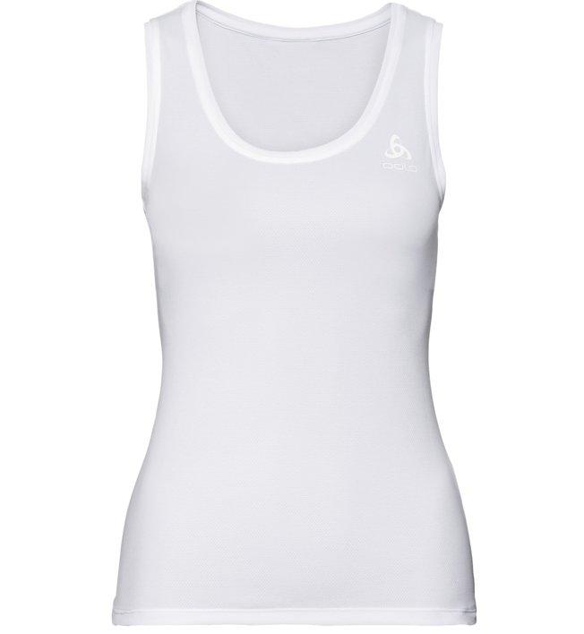 Odlo Active F-Dry Light SUW Singlet - Funktionsunterhemd - Damen, White