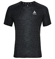 Odlo Crew Neck Essential - T-shirt running - uomo, Black